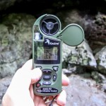 A Kestrel 4500 personal weather station