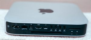 Mac Mini server - back ports