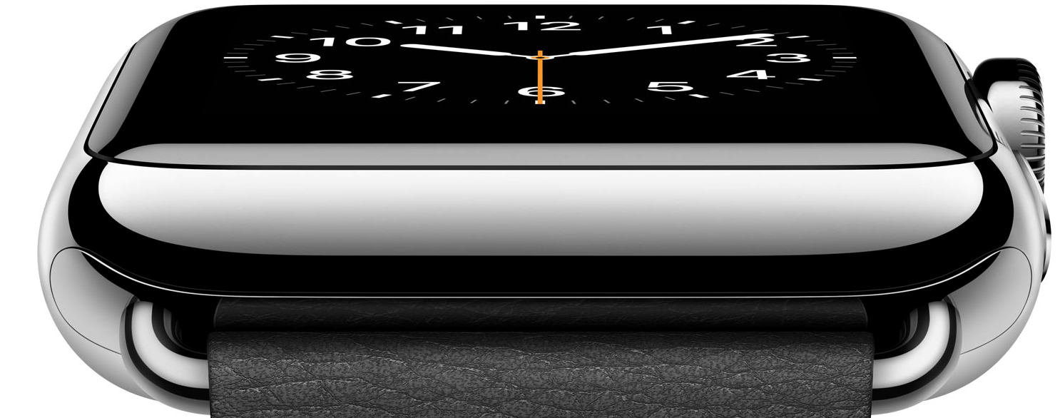 Apple Watch Steel -sideview