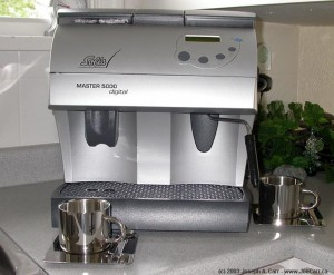 Solis Master 5000 Digital superautomatic espresso machine