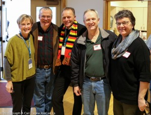 Jennifer, Bryan, Sylvain, Joe & Berta - Rick Steves Europe Tours Reunion in Edmonds