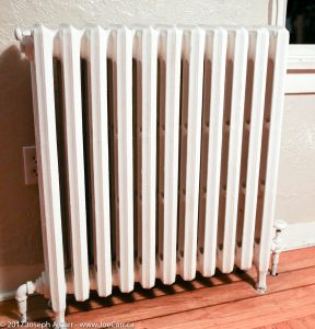 Hot water radiator