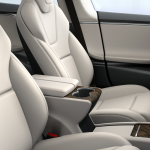 Cream Interior - 2017 Tesla Model S 75D