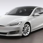 Front - 2017 Tesla Model S 75D