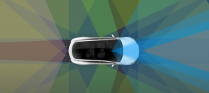 Tesla Self Driving sensors