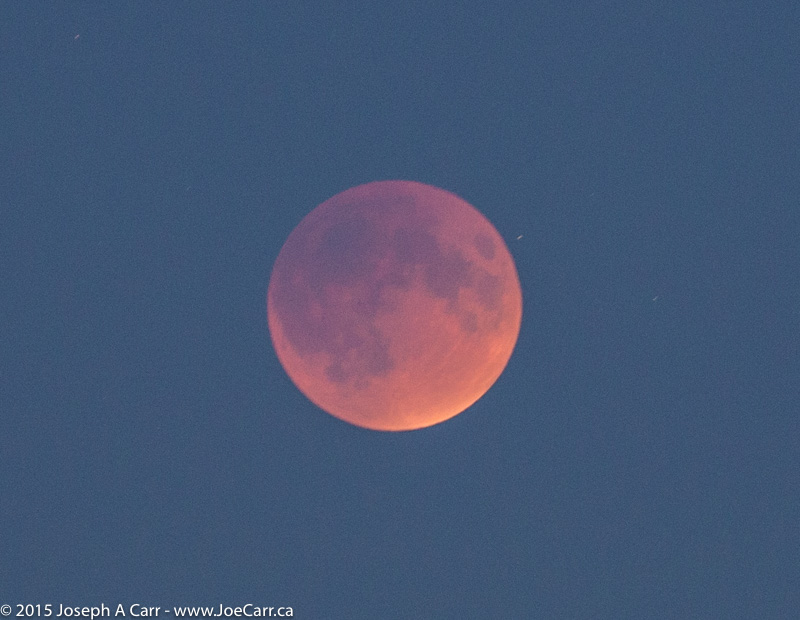 2015 Total Lunar Eclipse in Victoria