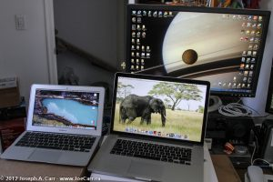 Size comparison: MacBook Air & MacBook Pro with retina display