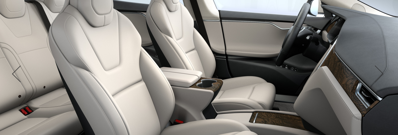 Cream Interior – 2017 Tesla Model S 75D – Joe Carr